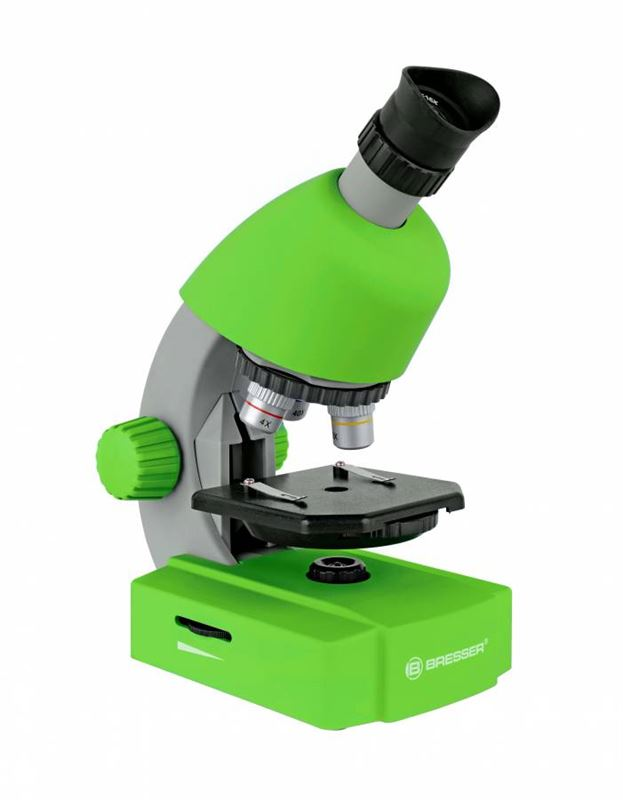 Bresser Junior 40x-640x Microscope, green