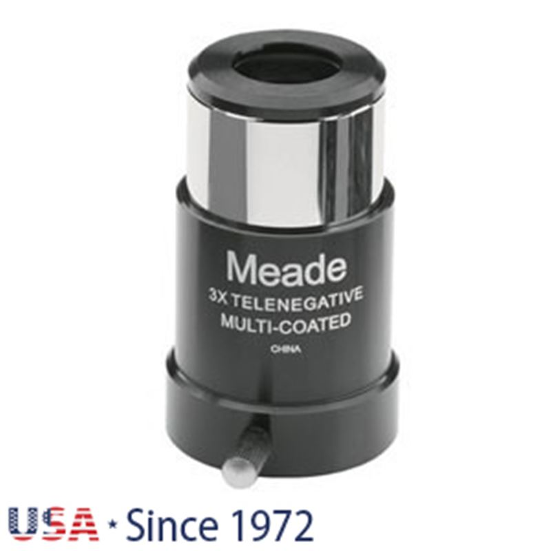 Meade Series 4000 128 2x Short- Focus Barlow 1.25""