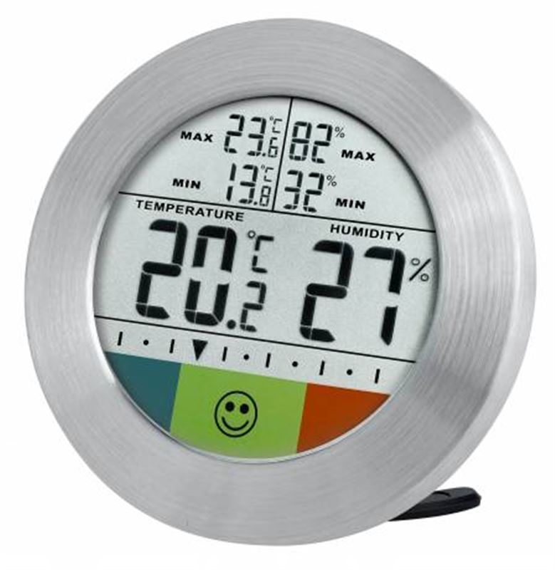 Bresser Temeo Hygro Circuit Weather Station-silver